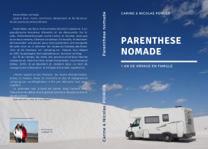 parenthese nomade